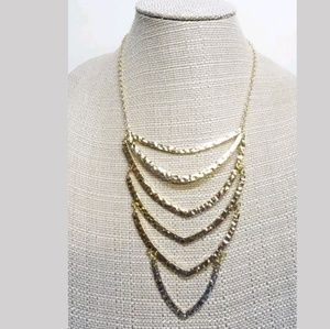 NEW GOLD TONE NECKLACE BY URBAN OUTFITTERS